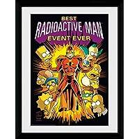 1art1® Los Simpson - Radioactive Man Póster De Colección Enmarcado (40 x 30cm)