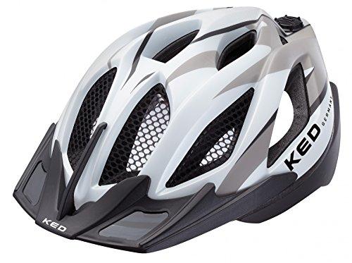 frauen helm KED SPIRI TWO 2016 Fahrradhelm MTB Helm alle Farben und Größen, Größe:55-61 cm;Farbe:black grey matt