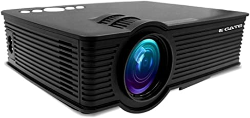 EGATE i9 LED HD Projector (Black) HD 1920 x 1080 - 120-inch Display