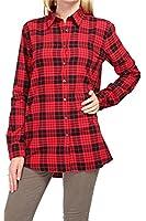 0039 Italy Damen Bluse Hemdbluse ODETTE NEW, Farbe: Rot