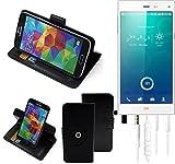 TOP SET: 360° Schutz Hülle Smartphone Tasche für Phicomm