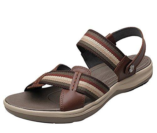 Sandales De Sport Insun Pour Hommes Pantoufles De Plage Marron