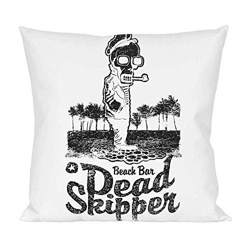 Beach Bar Dead Skipper Pillow - Skipper Tee