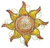 Regal Art & Geschenk Mosaik Sonne, 58,4cm Kupfer