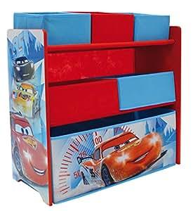 Fun House - 712385 - DISNEY Cars - Étagère Avec 6 Casiers pour enfant