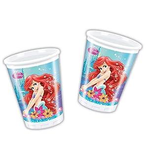 Disney Princess - Cubertería para Fiestas La Sirenita (Procos 71522)