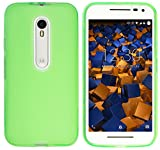 mumbi Schutzhülle Motorola Moto G (3. Generation) Hülle transparent grün