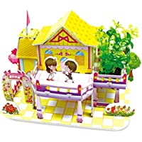 3D gruesa espuma Cartón Puzzle bricolaje Kit de artesanía/Modelo de edificio/Regalo/Kit de modelo Para niños # 29 - Peluches y Puzzles precios baratos