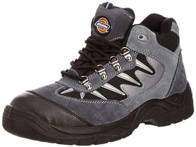 Dickies - Chaussure De Sécurité Montante Pour Homme Bout Et Semelle Intermédiaire En Acier Col Chevi, Gris (grey/black), 5 UK F
