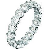 Esprit Damen-Ring 925 Sterling Silber Zirkonia Embrace ESRG92348A1
