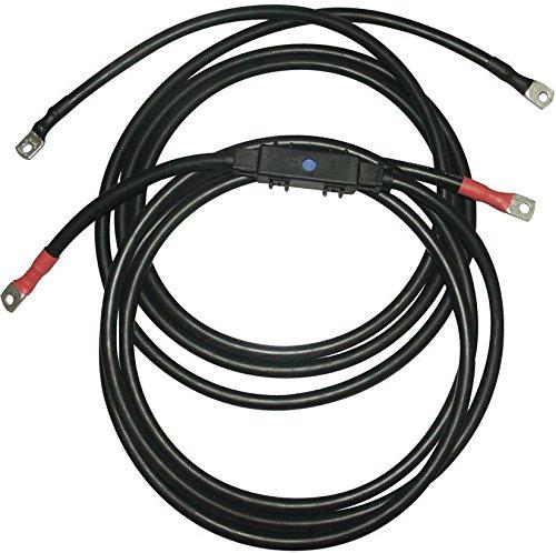 Unbekannt IVT Kabelsatz SW-Serie 3 m 35 mm² 421006 Passend für Modell (Wechselrichter):Voltcraft SW-100 12V, Voltcraft SW-150 24V,