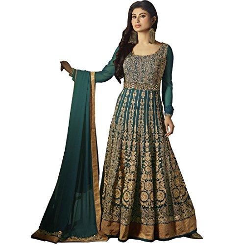 Vasu Saree Georgette Anarkali Suit With Heavy Embroidery Work