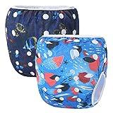 Storeofbaby Copriscarpe per nuotare riutilizzabili e rifrangenti 0-36 mesi Confezione da 2 paia
