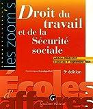 Droit du travail et de la Sécurité sociale : Edition 2006-2007 à jour au 1er septembre 2006