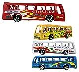 1 x Bus Reisebus - City Bus Team, Urban Line, 1 aus 4 Farben, - ca. 15cm