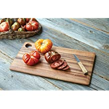 M&M Acacia Wooden Cutting Board/Chopping Board/Multipurpose Serving Tray, 18 X 10 IN MMD542