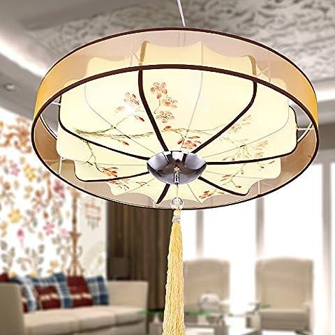 FEI&S nuova sala lampadario lampada calda luce camera da letto dipinte a mano e Chinoiserie un brano sala da pranzo lampade,prugna Fiore,?600
