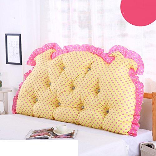 Uus Romantique Moderne BedHead Coussin Pastorale Style Princesse de rêve Bed Chef Coussin de Dossier formats différents pour Votre lit Double Choix Individuel Coussin 150 * 70 * 15 cm M