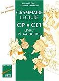 Image de Grammaire-lecture CP-CE1 : cahier d'exercices