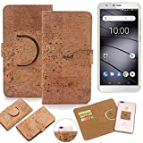 K-S-Trade 360° Cover cork Case for Gigaset GS100 |