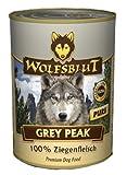 Wolfsblut Grey Peak PURE | 6x 395g getreidefreies Hundenassfutter