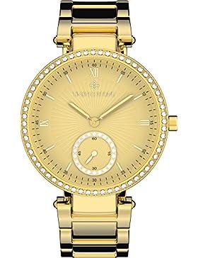 Timothy Stone ELLE STAINLESS damenuhr - Armbanduhr Analog Quarz, Farbe Gold Designuhr