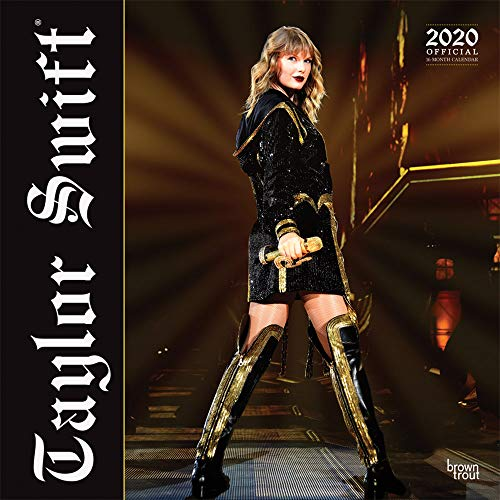 Taylor Swift 2020 - 16-Monatskalender: Original BrownTrout-Kalender [Mehrsprachig] [Kalender] (Wall-Kalender) - Film Kalender