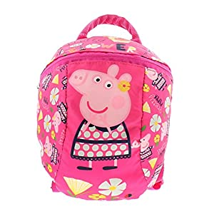 5131XqQQl8L. SS300  - Peppa Pig Backpack Mochila Infantil, 32 cm, 8300 Liters, Rosa (Pink)