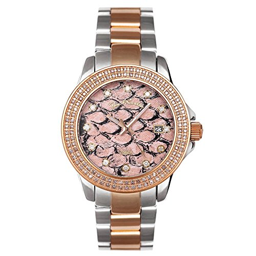 Joe Rodeo Diamond Orologio da donna - ZIBRA oro rosa 1,25 ctw