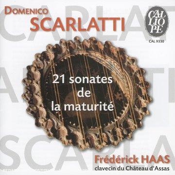 SCARLATTI - 21 Sonates de la maturité