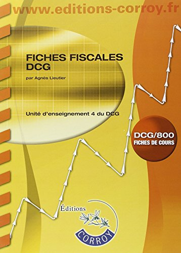 Fiches fiscales UE 4 du DCG