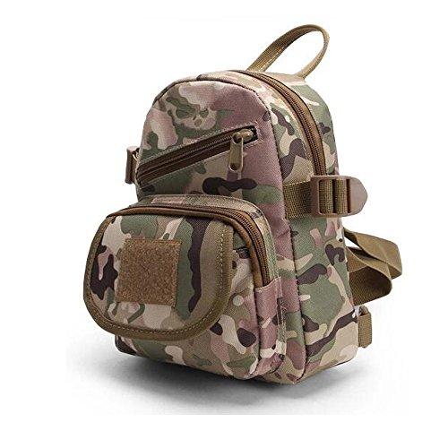 ruifu Tactical Military Sling Brust Pack Bag Schulter Cross Body Messenger Sporttasche für travailing Trekking Jagd Camping CP