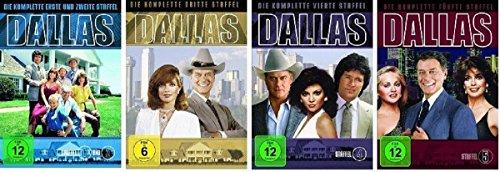 Dallas Staffel 1-5 (1+2+3+4+5) / DVD Set