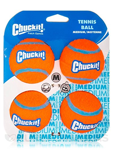 Artikelbild: Chuckit! Tennis Ball Medium - 4 Stücke
