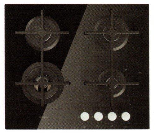 Whirlpool Goa 6423/nb Plaque - Plaque (intégré, gaz, verre, rotatif, partie supérieure avant, 8000 W) Noir