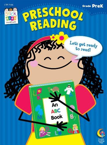 Preschool Reading, Grade PreK (Stick Kids Workbooks)