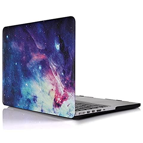 iDOO MacBook Schutzhülle / Hard Case Cover Laptop Hülle [Für MacBook Pro 13 Zoll mit (Rivestita Di Gomma Di Caso)