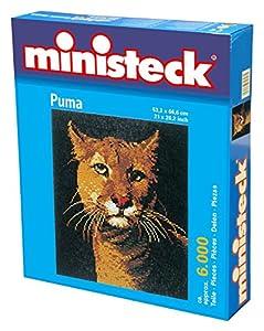 Ministeck 31837 - Puma, tableros, 6000 Piedras y Accesorios