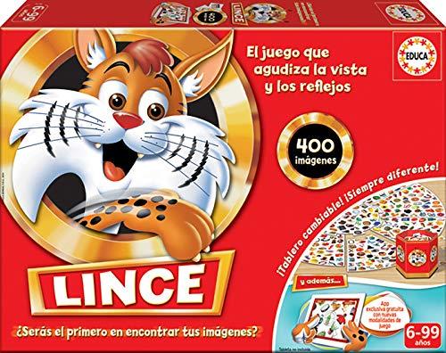 Educa Borrás Lince Edición Familia con App, 400 Imágenes, (16146)