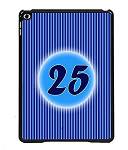 Printvisa 2D Printed Numerology Designer back case cover for Apple ipad Air 3 - D4245