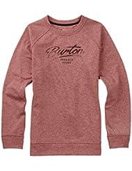 Burton Quartz Crew Sweatshirt Damen Coral Heather