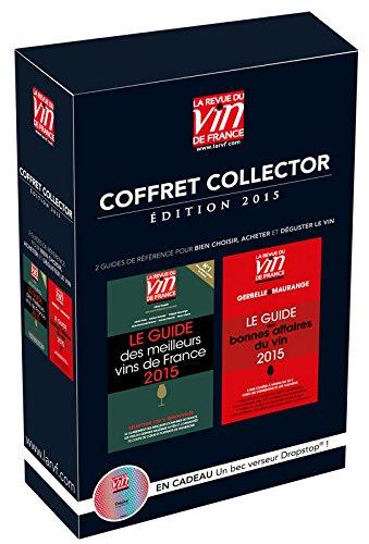 Coffret collector + un bec verseur Dropstop : Le guide des meilleurs vins de France ; Le guide des bonnes affaires du vin