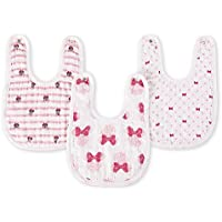 aden by aden + anais snap bib 3 pack - Minnie Mouse
