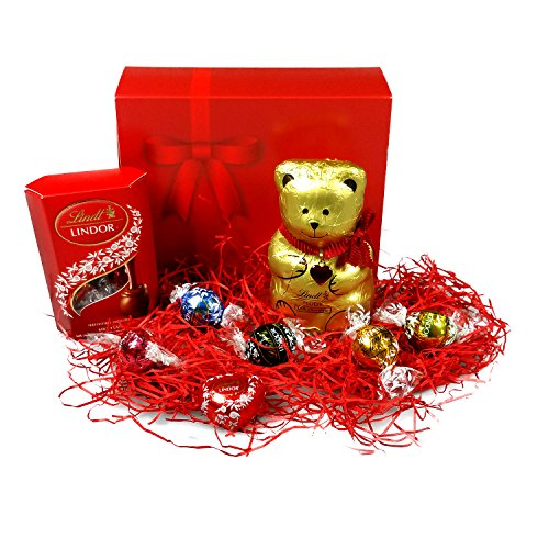 Lindt Love Luxury Selection Box - Perfect For Valentines Day Or Mothers Day - By Moreton Gifts