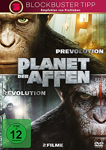 Planet der Affen: Prevolution & Revolution [2 DVDs] (Planet Der Affen Dvds)