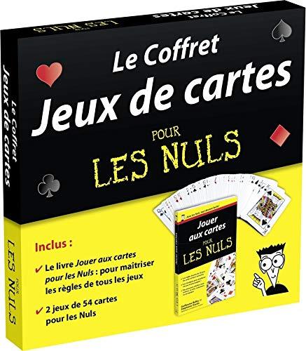 Le Coffret Jeux de cartes pour les Nuls par Mickaël GRALL