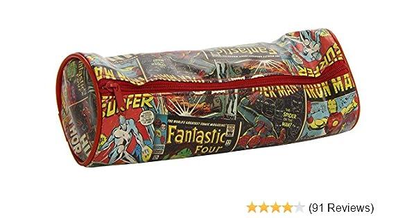 Marvel Comics Official Retro Pencil Tube Set 2 x A5 Colouring Posters Avengers