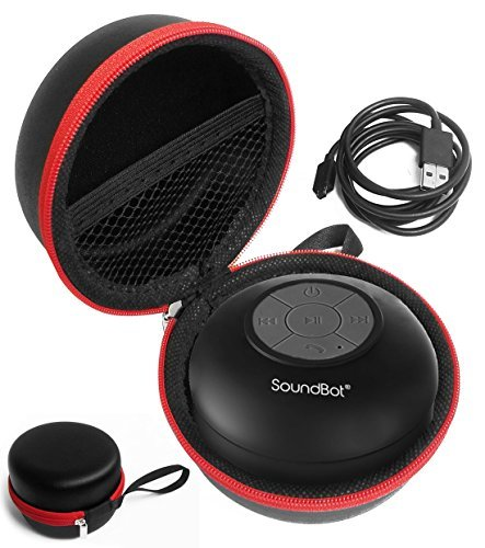 FitSand (TM) Carry Portable Protective Travel Zipper Hard Case Cover Bag Box for SoundBot SB510 HD Water Proof Bluetooth 3.0 Speaker (Fits USB Cable)  available at amazon for Rs.1607
