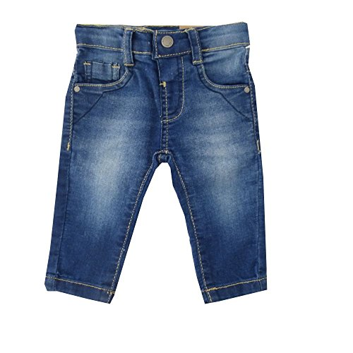 Jungen Mädchen Jeans Hose blau