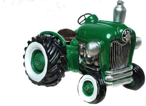 Spardose Traktor Nostalgie Trecker grün nostalgisch Oldtimer